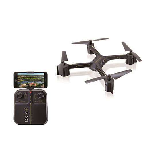 Sharper Image Rechargeable Dx 4 Video Drone Streaming Edition