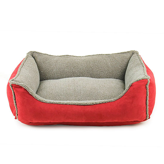 Carolina Pet Company Faux Suede Rectangle Pet Bed