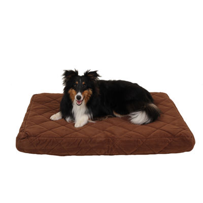Carolina Pet Company Quilted Orthopedic Jamison Pet Bed with Protector Pad