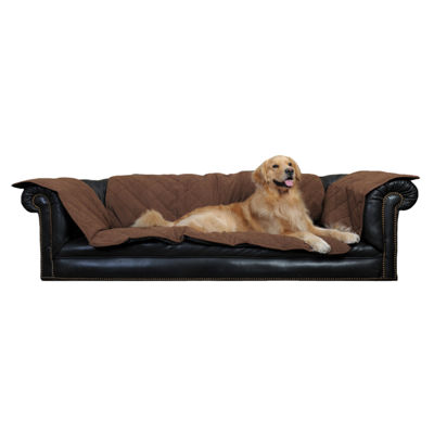 Carolina Pet Company Diamond Quilted Couch Protector with Protector Pad