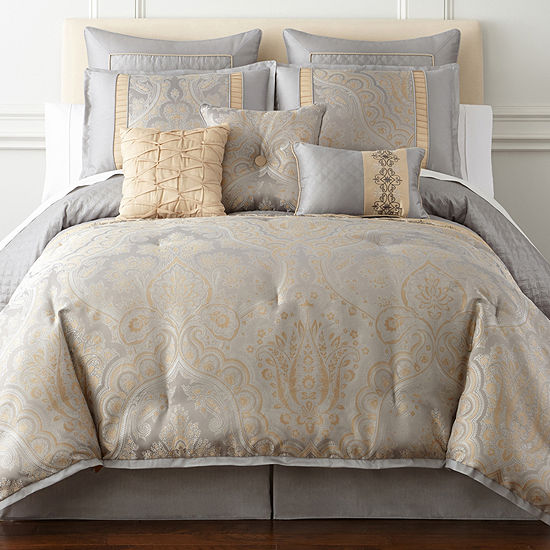 Home Expressions Carlisle 7 Pc Comforter Set