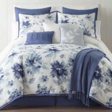 jcpenney.com | Home Expressions Claire 10-pc. Floral Comforter Set & Accessories