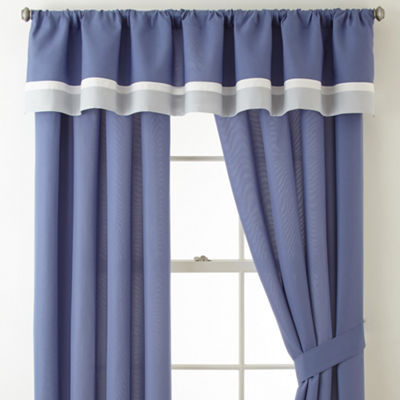 Home Expressions Claire Rod-Pocket Curtain Panel