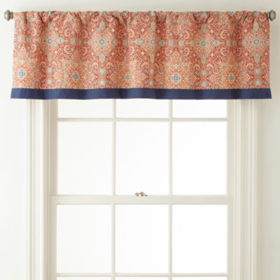 JCPenney Home Rod-Pocket Valance