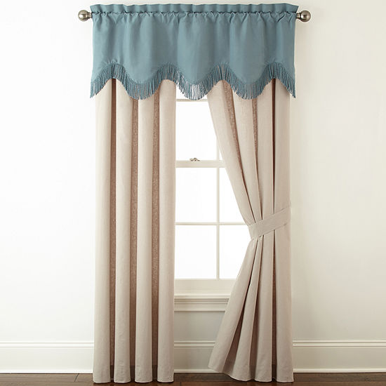 Royal Velvet Sienna Rod-Pocket Curtain Panel