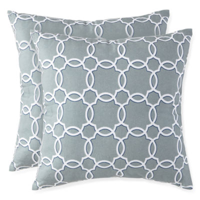 JCPenney Home™ Grayson Ogee 2-Pack Decorative Pillows