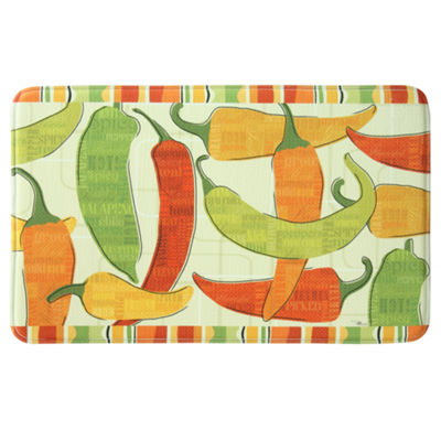 Bacova Guild Spicy Peppers Rectangular Kitchen Mat