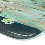 Bacova Guild Blossoms In Jar Rectangular Anti-Fatigue Indoor Kitchen Mat