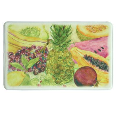Bacova Guild Fruit And Border Rectangular Kitchen Mat