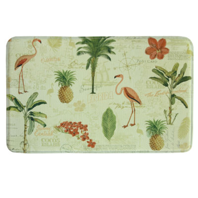 Bacova Guild Floridian Toss Printed Rectangular Anti-Fatigue Rugs