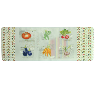 Bacova Guild Garden Veggies Printed Rectangular Anti-Fatigue Rugs