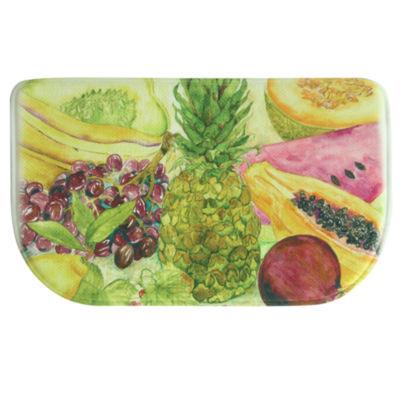 Bacova Guild Fruit Border Wedge Kitchen Mat
