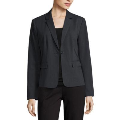 Liz Claiborne® Long-Sleeve Suiting Blazer - Petite
