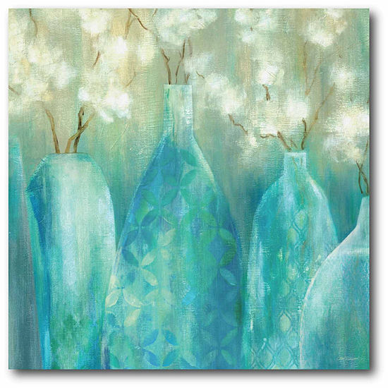 Topaz Arrangement Canvas Wall Art