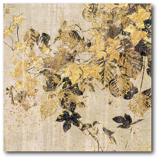 Bold Ivy Canvas Wall Art