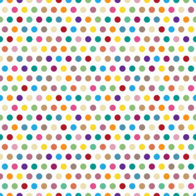 Wall Pops Colorful Pois Peel and Stick Foam Tiles