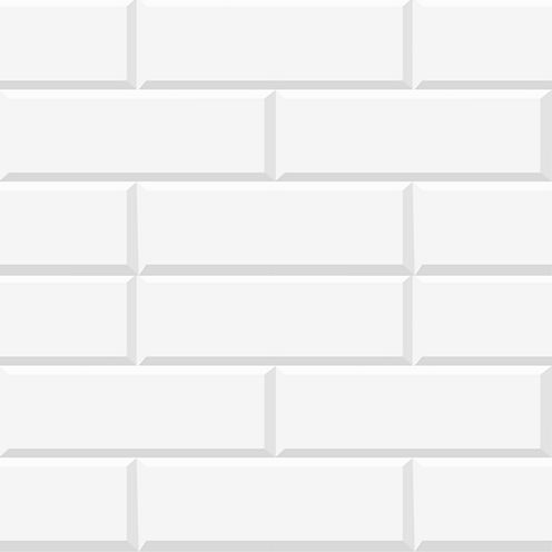 Wall Pops White Bricks Peel and Stick Foam Tiles