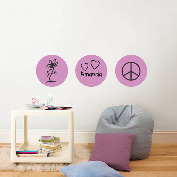 Wall Pops Dry Erase Dots Wall Decals