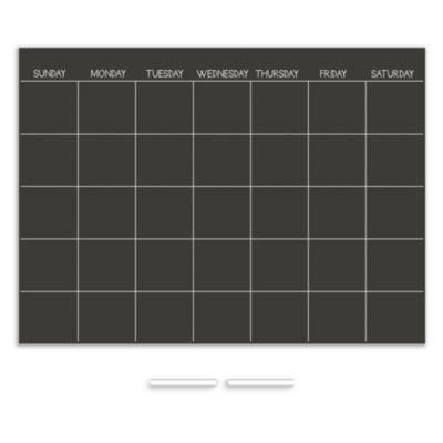 Wall Pops Chalk Dry Erase Calendar Decal