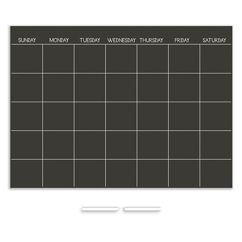 Wall Pops Chalk Dry Erase Calendar Decal