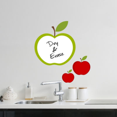 Wall Pops Apple Whiteboard Wall Decal
