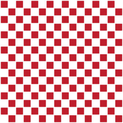 Brewster Wall Mosaic Red and White Wall Tiles