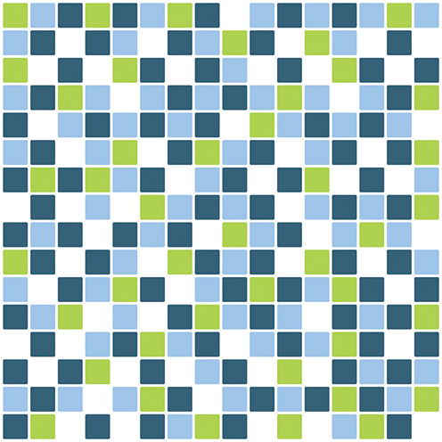 Brewster 7.9 in. x 23.7 in. Mosaic Freshness Peel and Stick Tile Wall Decal