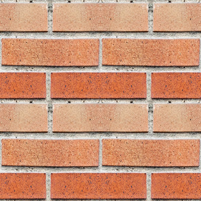 Brewster 18.2 in. x 36.4 in. Red Bricks Peel and Stick Foam Tile Wall Decal