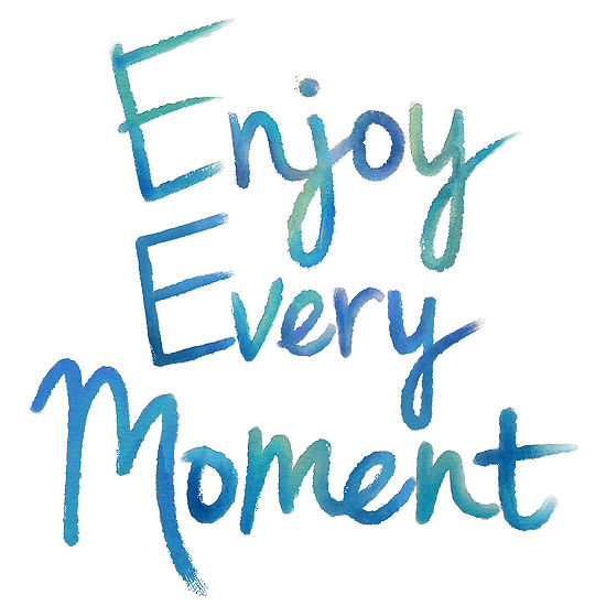 WallPops Enjoy Every Moment Wall Quote