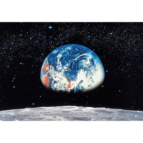 Earth/moon Wall Mural