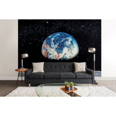 Earth/moon Wall Mural