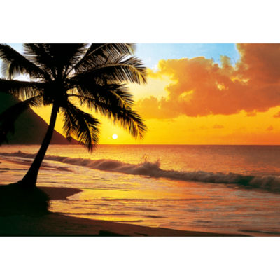 Pacific Sunset Wall Mural