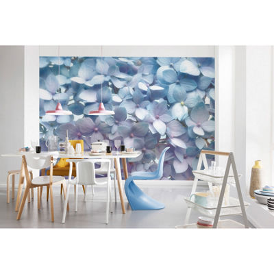 Light Blue Wall Mural