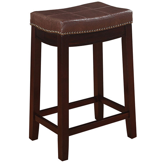 Claridge Patches Brown Counter Stool