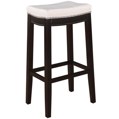 Claridge Patches White Bar Stool