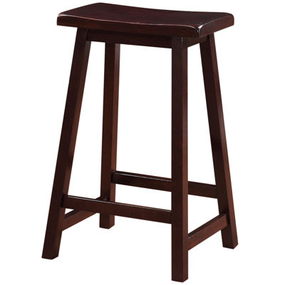 "24"" Saddle Bar Stool"
