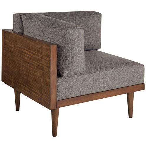 INK+IVY Stanton Square Corner Fabric Club Chair