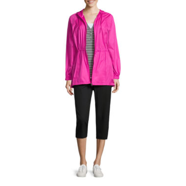 jcpenney.com | Made for Life™ Short-Sleeve Layered T-Shirt, Anorak Jacket, or Woven Capri