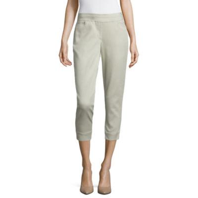 """Liz Claiborne 24"""" Cropped Pants"""