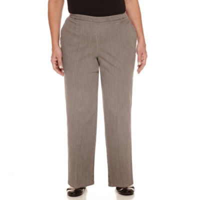 Alfred Dunner Uptown Girl Woven Pants- Plus