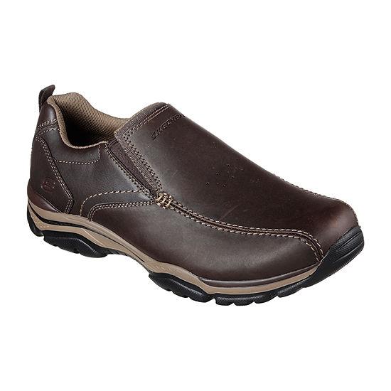 Skechers Mens Rovato Slip-On Shoe