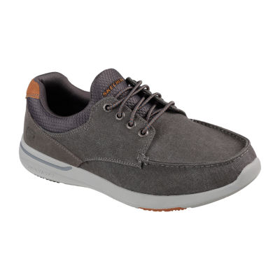 Skechers Mens Elent Oxford Shoes Pull-on
