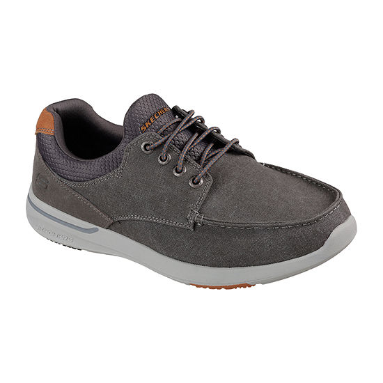 Skechers Mens Elent-Mosen Oxford Shoes Pull-on