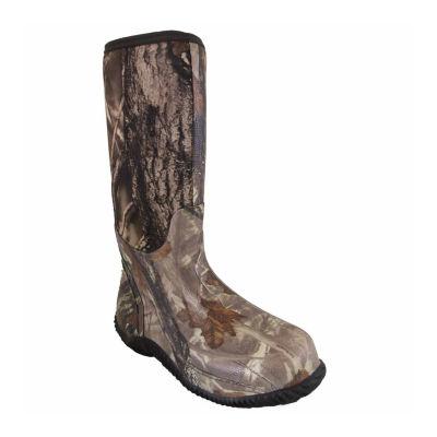 Smoky Mountain Mens Rain Boots Waterproof Slip Resistant