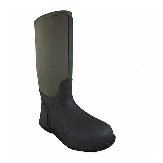 Smoky Mountain Mens Rain Boots Waterproof Slip Resistant