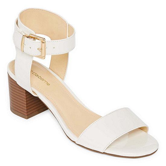 0e37f60994e Liz Claiborne Eclipse Womens Heeled Sandals JCPenney