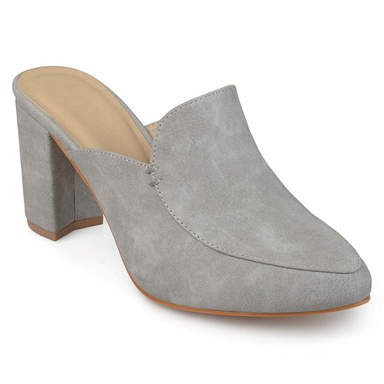 Journee Collection Womens Trove Mules Pointed Toe