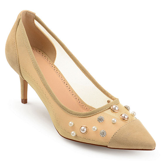 Journee Collection Womens Breck Pumps Pointed Toe Stiletto Heel