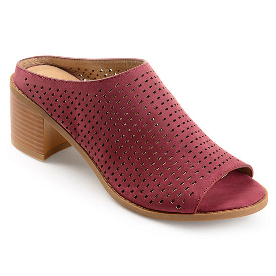 Journee Collection Womens Ziff Mules