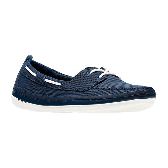 Clarks Womens Step Maro Sand Boat Shoes